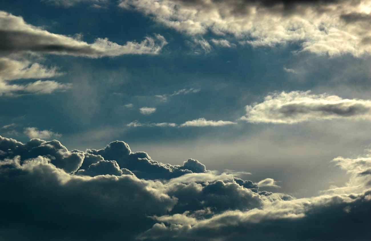 atmosphere blue cloud cloudiness